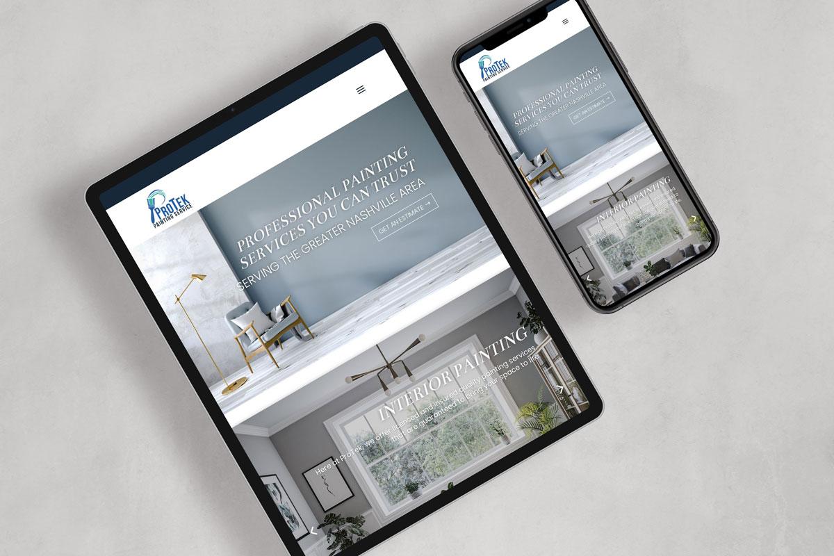 custom brand and web design
