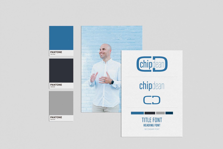 Chip_Dean_custom_brand_logo_and_wordpress_website_design_by_franklin_lane_creative_portfolio1